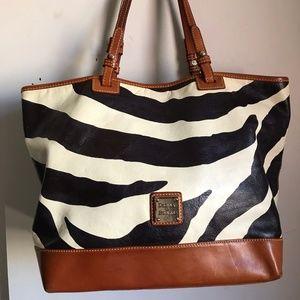 Dooney & Bourke Large Leather Shoulder Bag